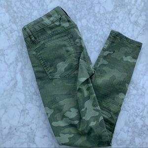 Gap Camo Skinny Jeans